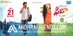 Fidaa Movie Latest  posters
